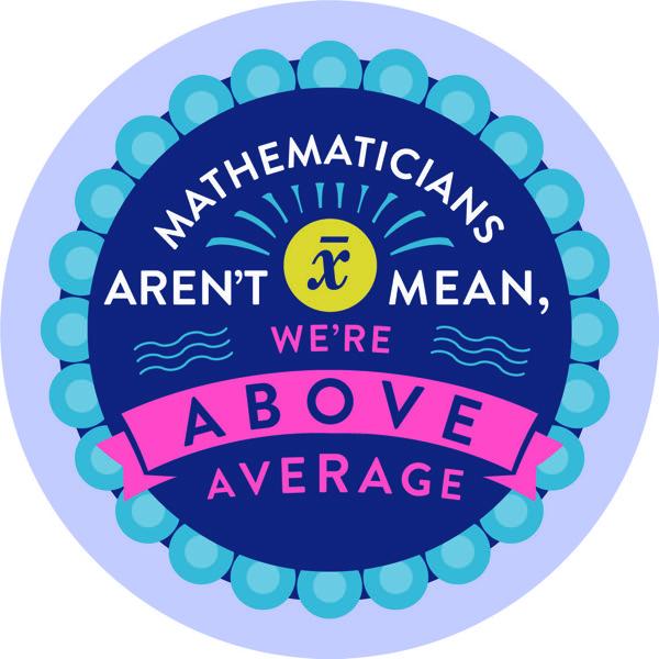 Maths badge